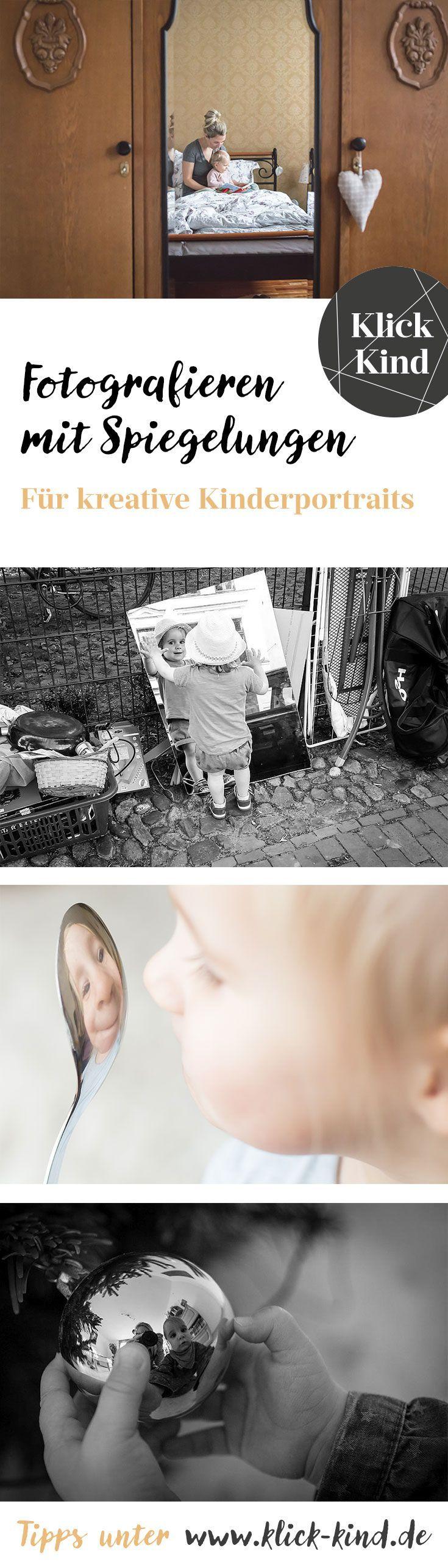 Kreative Kinderfotos mit Spiegelungen – im Klick.Kind Magazin gibt es die Tipps dazu. – Nono