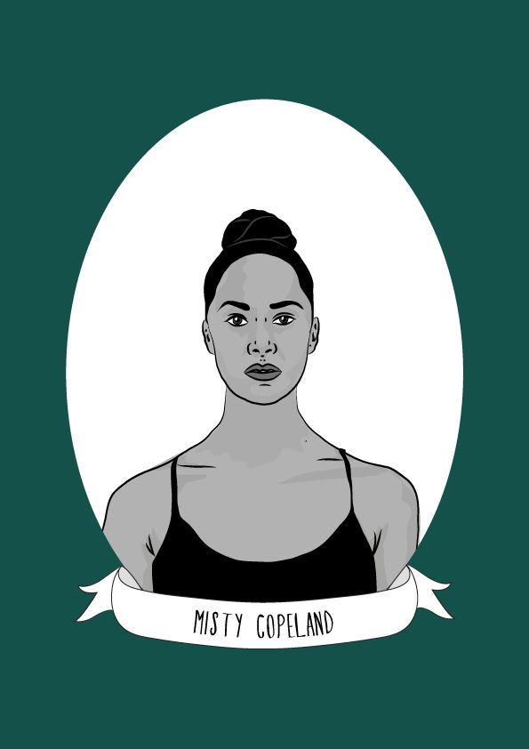 Misty Copeland is an American ballet dancer and the first African-American performer to be appointed as a principal dancer for American Ballet Theatre. Copland was born in Kansas City, Missouri in 1982 and raised in San Pedro, California. When she...