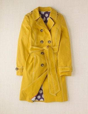 25 best yellow trench coat ideas on pinterest fendi for Boden yellow coat