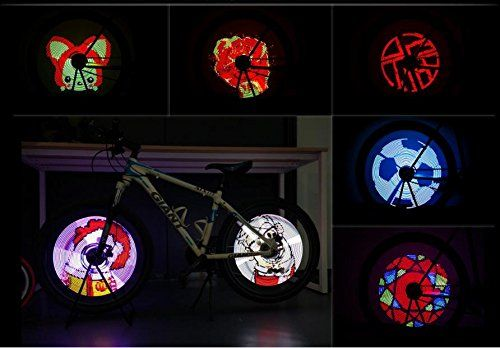 Bike Wheel Light Spoke Lights Colorful Wheel Lights Support App