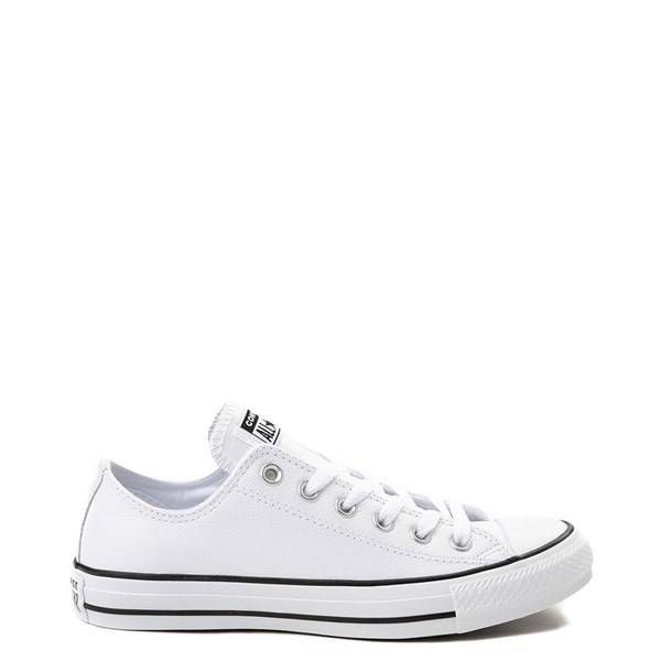 Converse Chuck Taylor All Star Lo Leather Sneaker White in