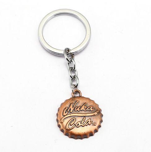 Fallout 4 Bottle Cap Keychain Nuka Cola