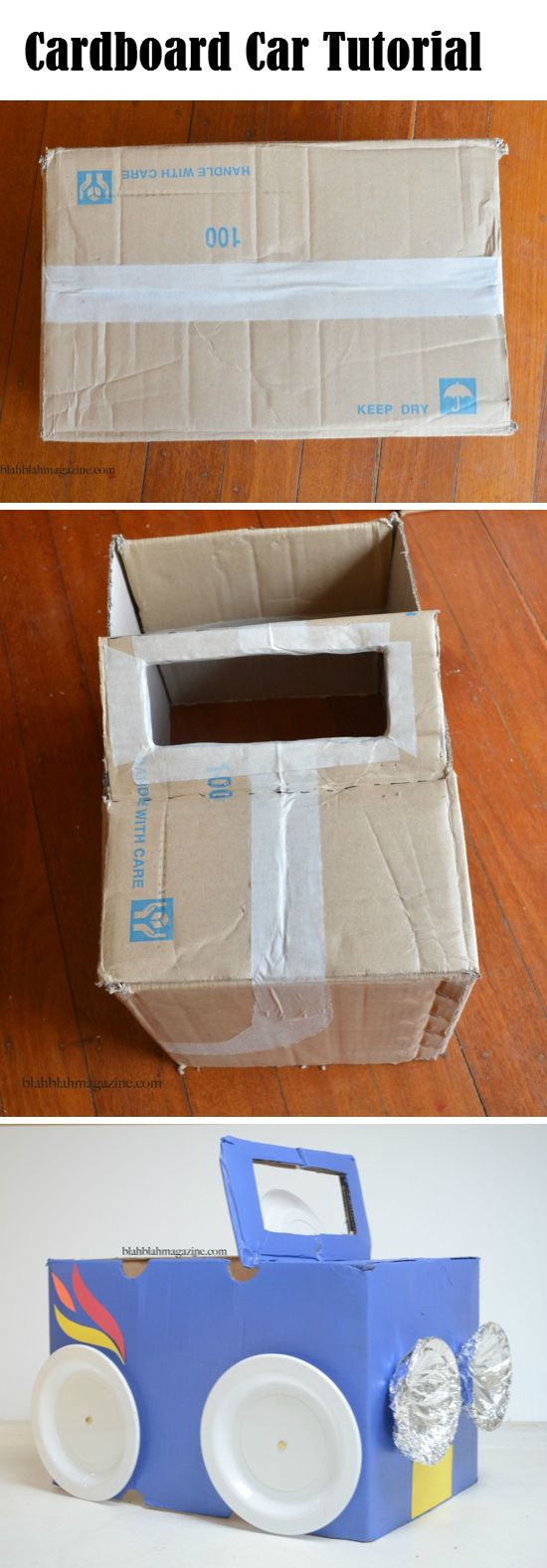 Cardboard Car Tutorial