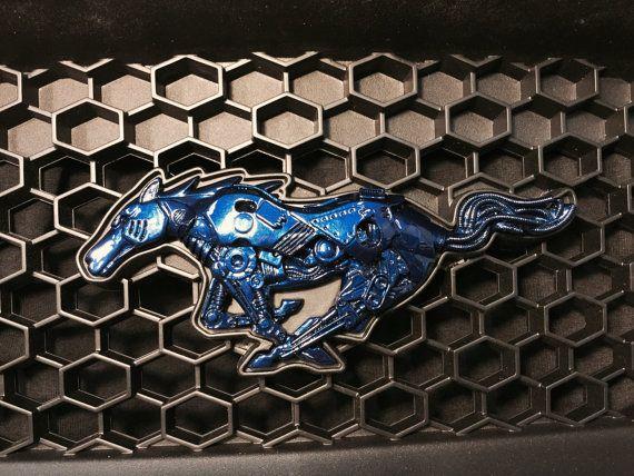 Ford Mustang 2010  2017 Custom Grill Emblem