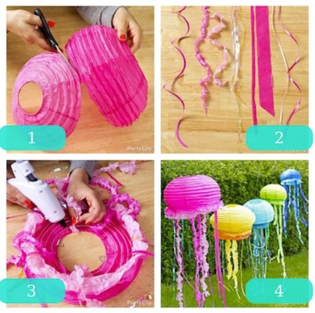 Easy And Fun Jellyfish Decorations