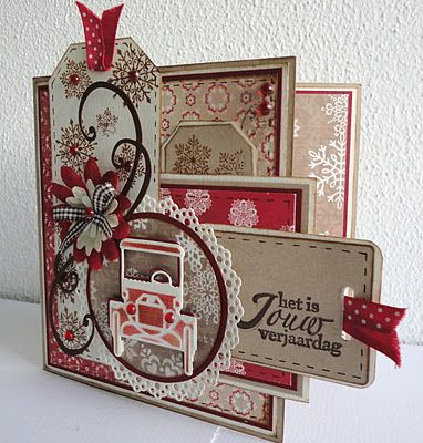 Great use of multiple tags. #cards #card_making #Christmas