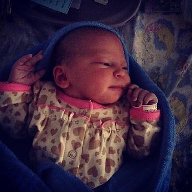 Baby Emilia Tommasina Saccone-Joly