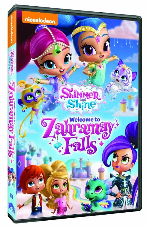 Shimmer and Shine: Welcome to Zahramay Falls DVD Giveaway