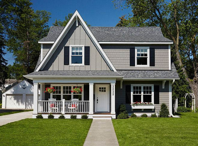 787 best home exterior paint color images on pinterest for Cape cod exterior