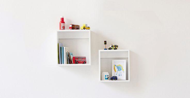 Cube Shelves - White