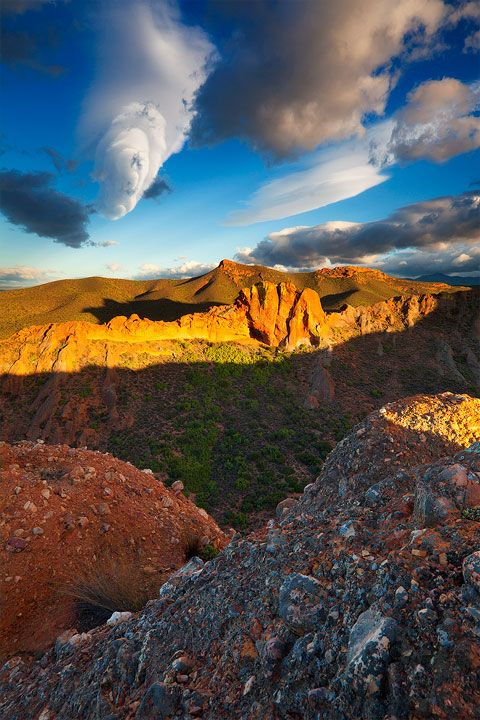 Swartberg Mountains: Karoo, South Africa.