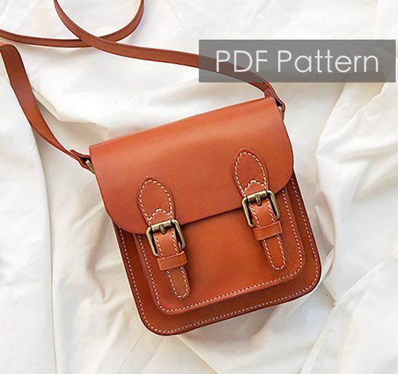 Leather Satchel Bag Pattern Leather Pattern Diy Gift Leather Bag
