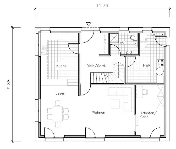 319 best images about Grundriss Einfamilienhaus on Pinterest ...