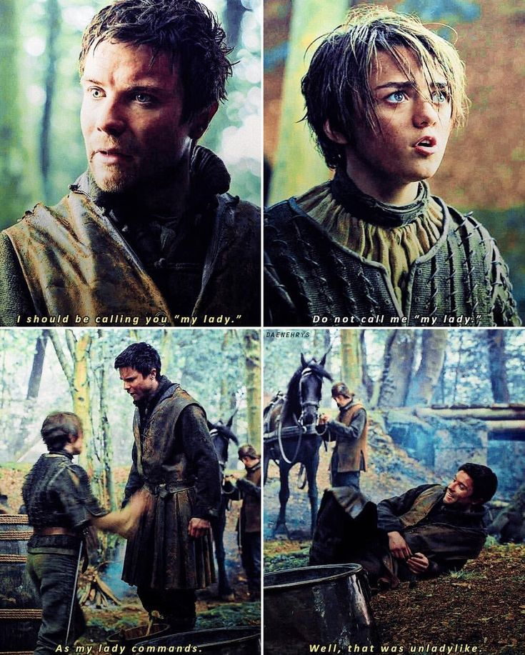 Gendry And Arya images