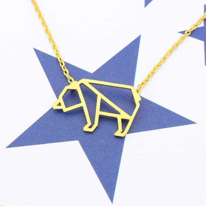 Ours Gold Necklace - Majolie   - 1