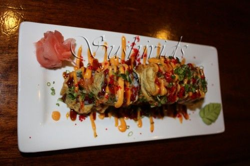 Volcano Roll: Fried SushiVolcano Rolls Recipe, How To Make Sushi Rolls, Fries Volcano, Yummy Food, Fried Sushi Recipes, Food Recipese I D Like To Try, Fries Sushi, Favorite Recipe, Rolls Yummy