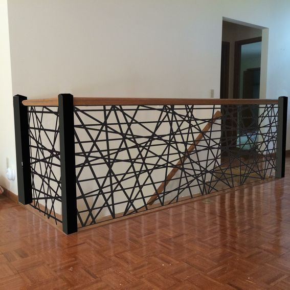 Custom Made Custom Metal Stair Railings