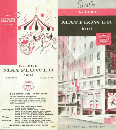 hotel brochure design inspiration - doric mayflower hotel brochure indesign pinterest
