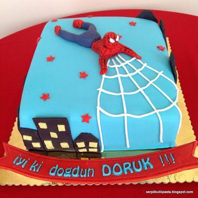 Butik Pasta Kurabiye Makaron: Örümcek Adam (Spider-man Pasta)