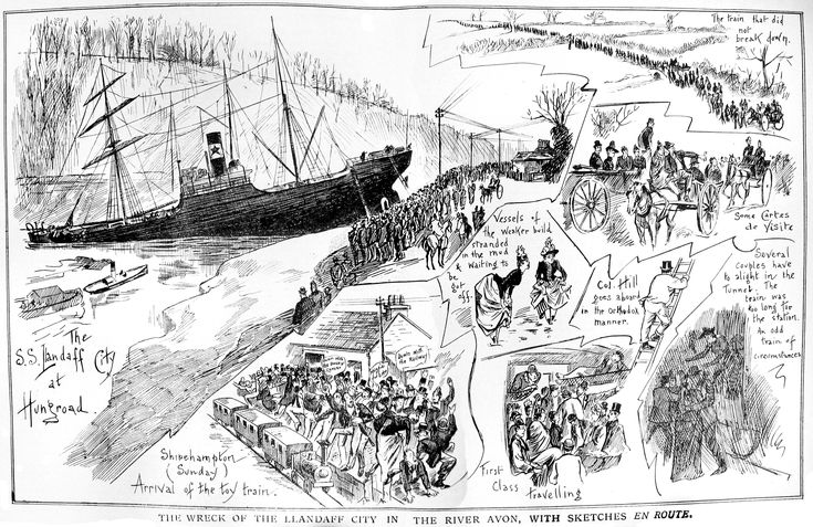Image result for river severn route illustration