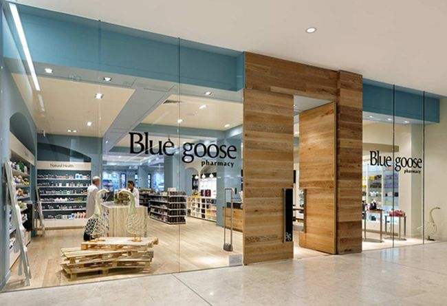 365 01/16 | blue goose pharmacy | retail design