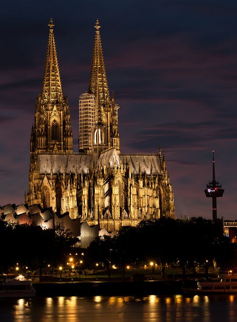 Cologne Sunset, Germany
