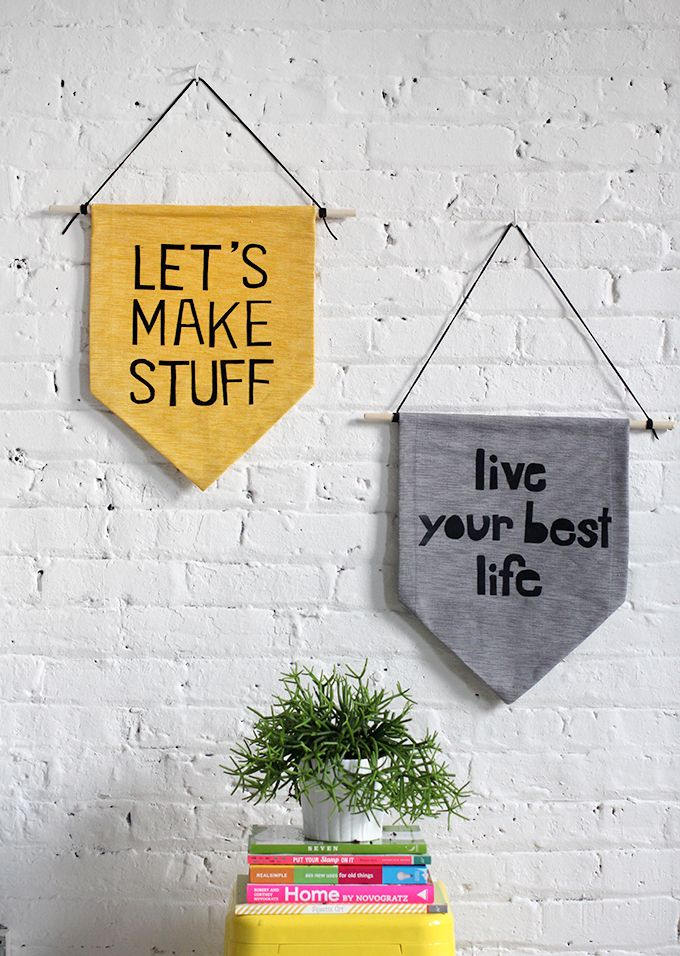 Hanging Wall Banner | Maker Crate