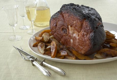 Sweeten up your Easter Farmland Ham with Mango in this Baked Smoked Ham recipe!