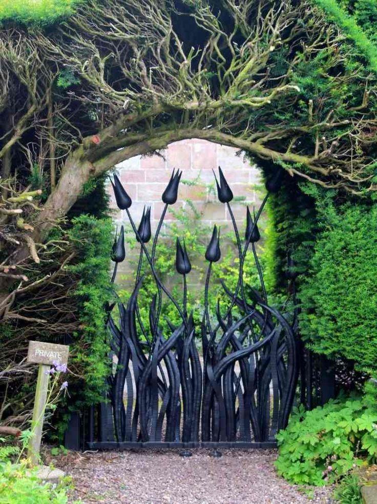 19 besten Garten Bilder auf Pinterest   Eisentore, Fenster und ...