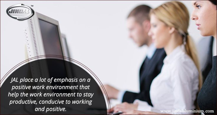 Positive anything is better than negative nothing. We place a lot of emphasis on a positive work environment and it has been our earnest endeavour to institute practises that help the work environment stay productive, conducive to working and positive. #JAL #PositiveWorkEnvironment