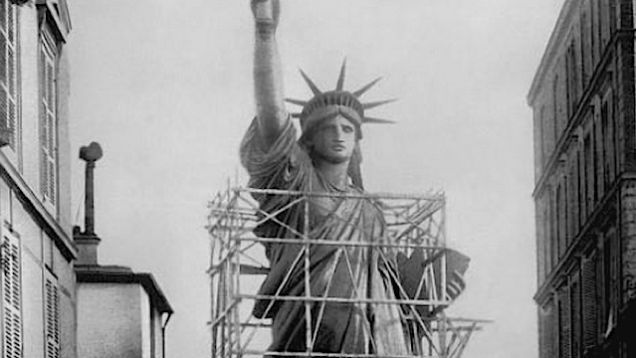 In science fiction filmdom, the destruction of the Statue of Liberty is merely a sign that the carnage is chugging along at a steady tack. But reality provides some equally strange views of Lady Liberty, particularly when she was under construction in Paris during the mid-1880s. Here are some curious photographs of this iconic Statue in various states of disarray. Movies That Smash the Statue of Liberty Movies That Smash the Statue of Liberty Movies That Smash the Statue of Liberty A trailer…