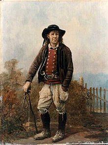 Bretagne - Homme de Chateauneuf-du-Faou de Louis Caradec