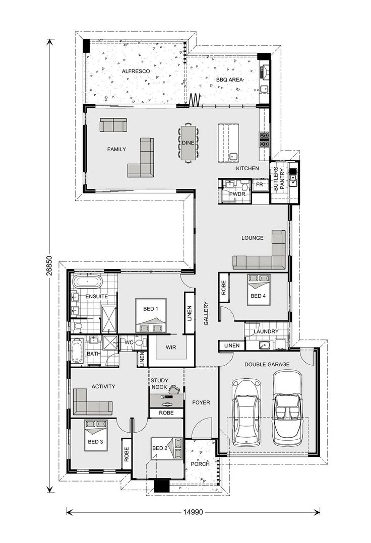 Stillwater 300, Our Designs, Home Builders in New South Wales, GJ Gardner Homes