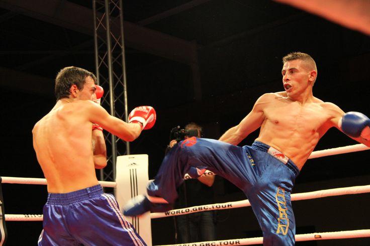 David Codron #WorldGBCTour 2012 Championnat d'Europe Fullcontact CHAMPIONNAT D'EUROPE WKN Full Contact #AlexIornadinis vs #DavidCodron Mazan France Europe