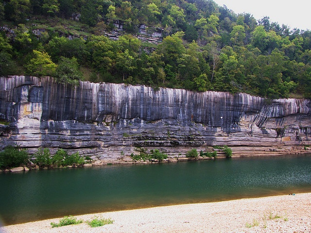 Buffalo Point, Arkansas... reminds me of my childhood. I loved camping there and canoeing the river with my family!
