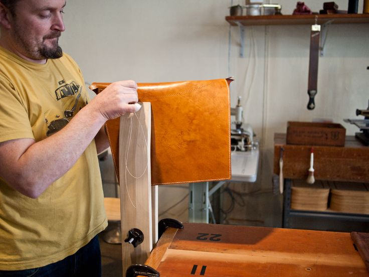 Larry Olmstead from Entermodal -Bespoke Leather   Wood Using Viridian  Reclaimed Wood's Gym Bleacher Tabletops - 28 Best Images About Tables - Viridian Reclaimed Wood On Pinterest