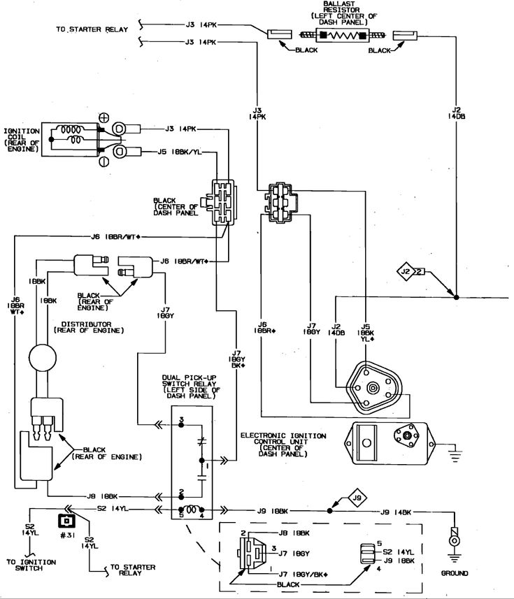 Chrysler Electronic Ignition Coil Wiring Diagram Best Of ...