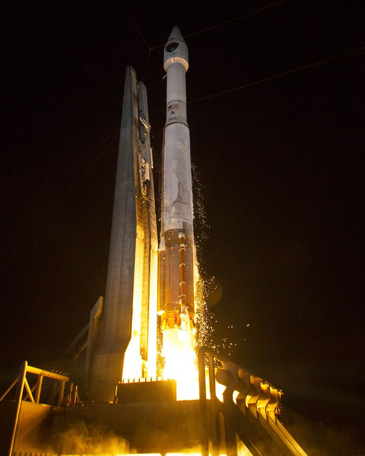 I was there to see this!!!!   The United States Air Force launched a new GPS satellite atop a United Launch Alliance Atlas 5 rocket on Aug. 1, 2014.