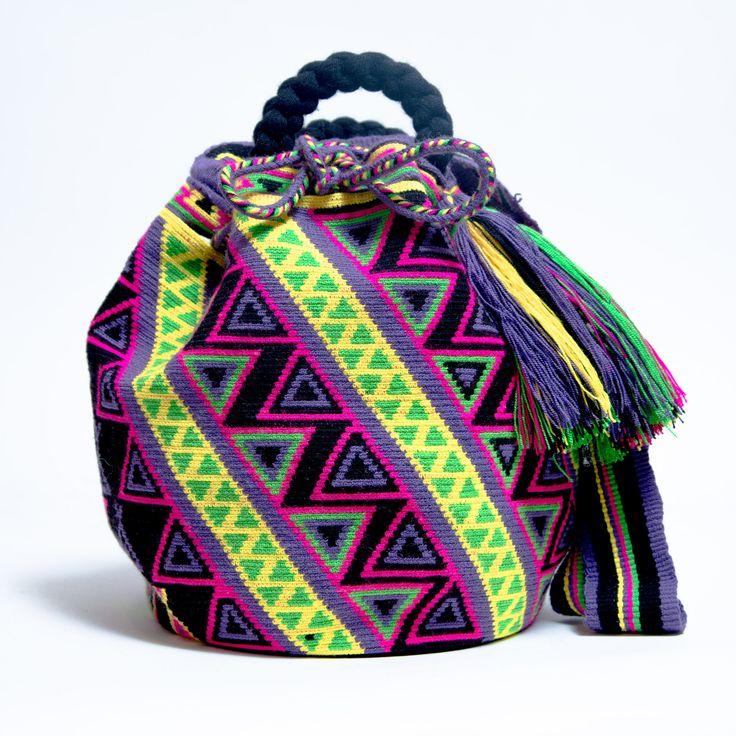 Limited Edition Wayuu Bag -With Braided Handles