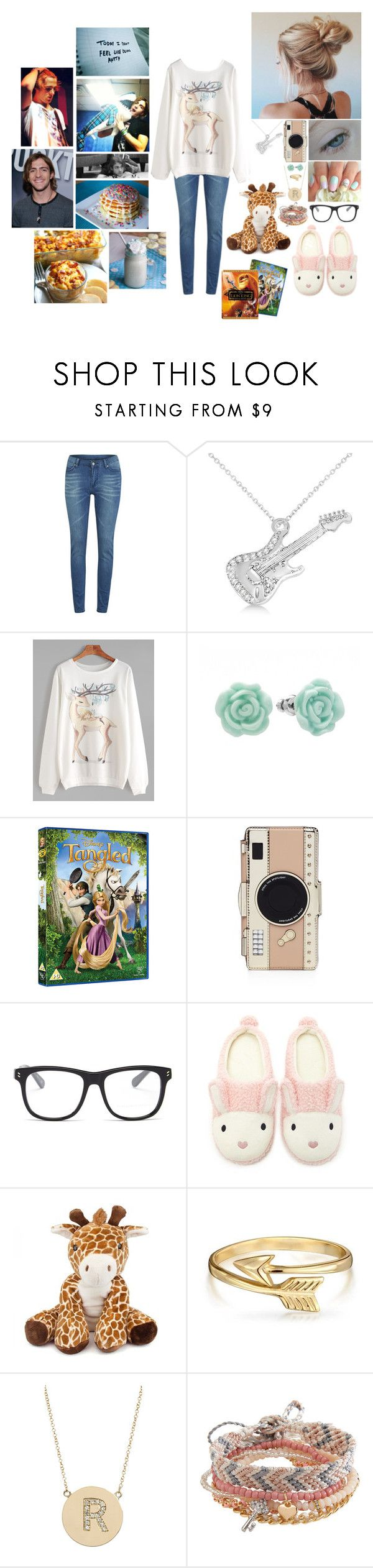 """""""Rebecca's Lazy Afternoon"""" by alexishambleton on Polyvore featuring mode, Cheap Monday, Allurez, LC Lauren Conrad, Kate Spade, STELLA McCARTNEY, Forever 21, Bling Jewelry, Jennifer Meyer Jewelry et Aéropostale"""