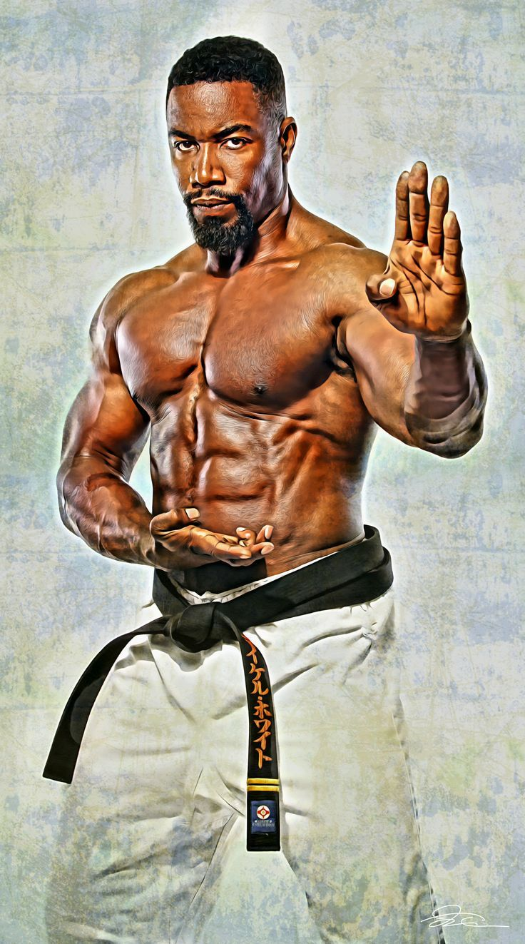 michael jai white mma martialarts you dont get to look
