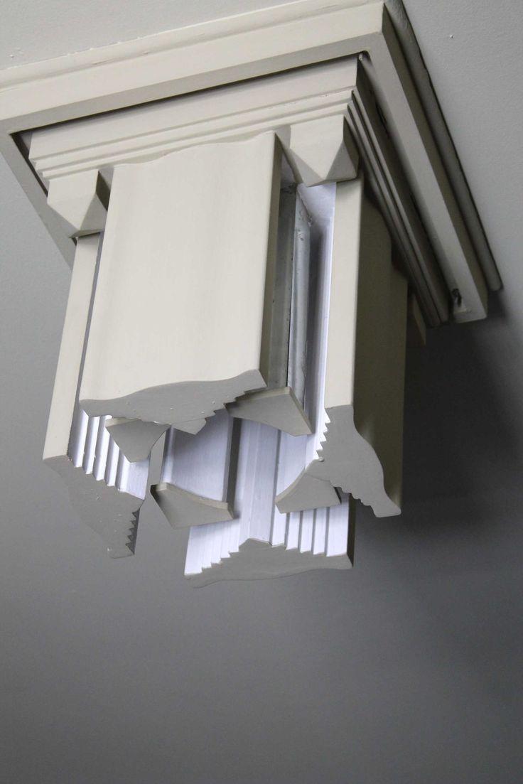 José María Rodríguez-Acosta diseñó estos plafones con láminas de espejo en su interior. #zoomMW #MuseumWeek