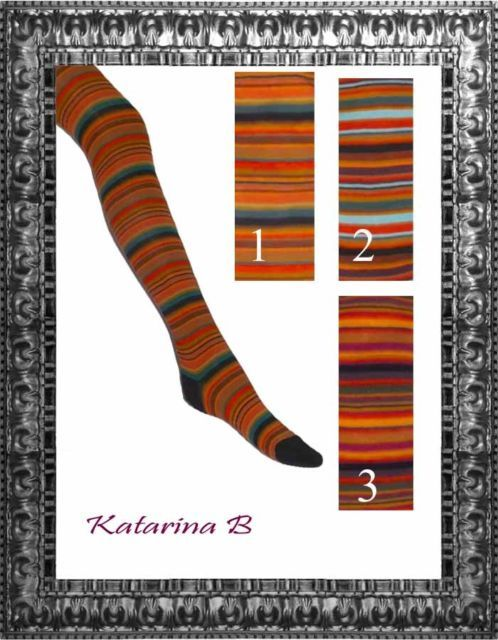 Damen Ringel Strumpfhose Crönert 231-1 Strickstrumpfhose 38 - 46 Multi - Color | eBay