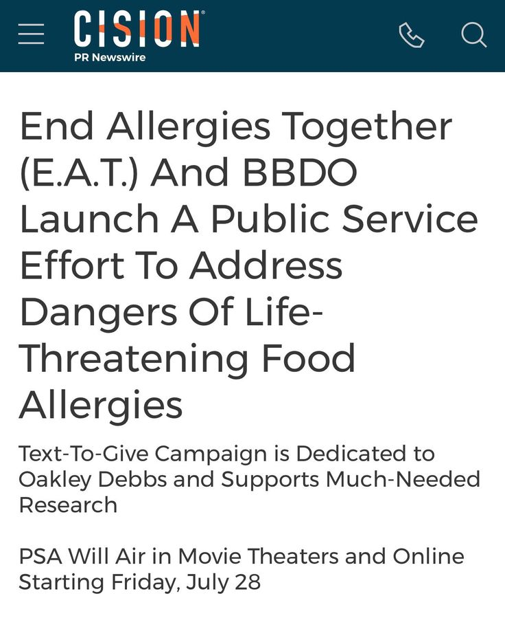 HOT OFF THE PRESS: New PSA will begin airing in movie theaters starting July 28th. It stars James Beard Award-winning chef Ming Tsai and is dedicated to the memory of Oakley. End Allergies Together BBDO Worldwide #foodallergiesawareness #rsfo http://www.prnewswire.com/news-releases/end-allergies-together-eat-and-bbdo-launch-a-public-service-effort-to-address-dangers-of-life-threatening-food-allergies-300491041.html