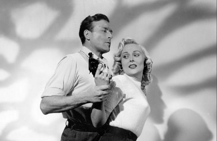 Lawrence Tierney and Ann Zika (aka Angela Stevens), The Hoodlum (1951)