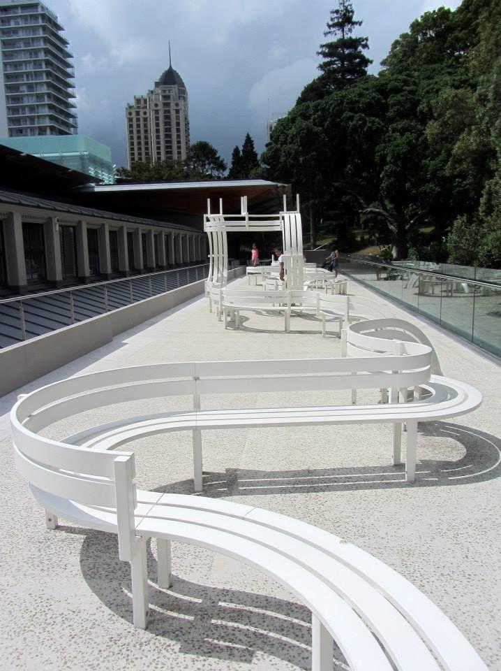 Sculpture Terrace, Auckland Art Gallery. Photo Credit: Graeme Cash. Copyright Exploring My Own Backyard, 2014 http://exploringmyownbackyard.com/2014/01/22/auckland-art-gallery-toi-o-tamaki/
