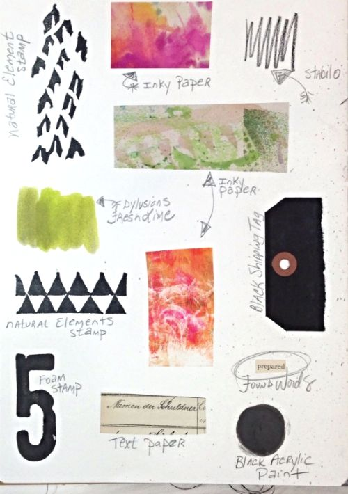 Using at Least Five Layers in Art Journaling... — Roben-Marie Smith
