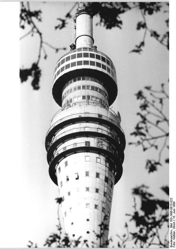 Dresden Fernsehturm June 1988