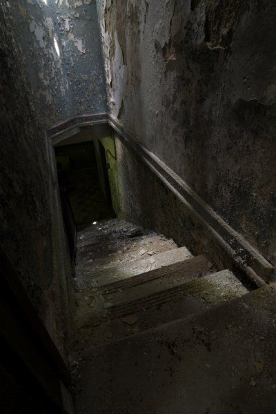Dark creepy basement