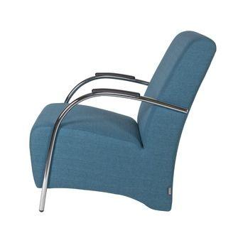 WOOOD fauteuil Halifax petrol